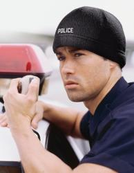 Crasche Police Winter Knit Hat