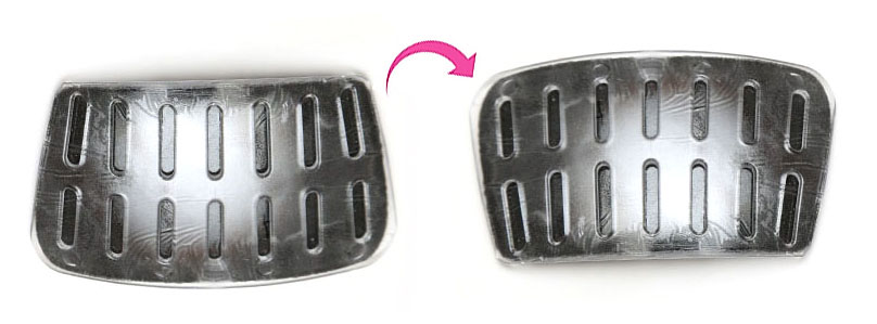 For a tighter fit, remove the two protective inserts that are next to the two larger rear inserts. Then re-insert them with the wide side up. This will reduce the size by over one inch.