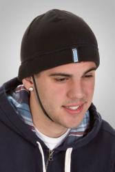 Crasche Summer Knit Hat with Adjustable Chin Strap